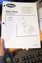 ariens sno-thro parts manual 03811500a 6/99 - $13.85