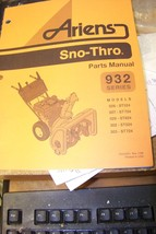 ariens sno-thro parts manual 032342h 7/96 - $13.85
