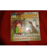 THE HOBBIT book & record set Rankin/Bass JRR Tolkien - $7.00