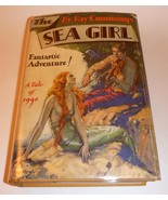 Sea Girl, Ray Cummings HC/DJ 1st Ed. 1930 - Early Rare Sci-Fi - $599.75