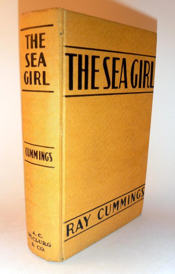 Sea Girl, Ray Cummings HC/DJ 1st Ed. 1930 - Early Rare Sci-Fi