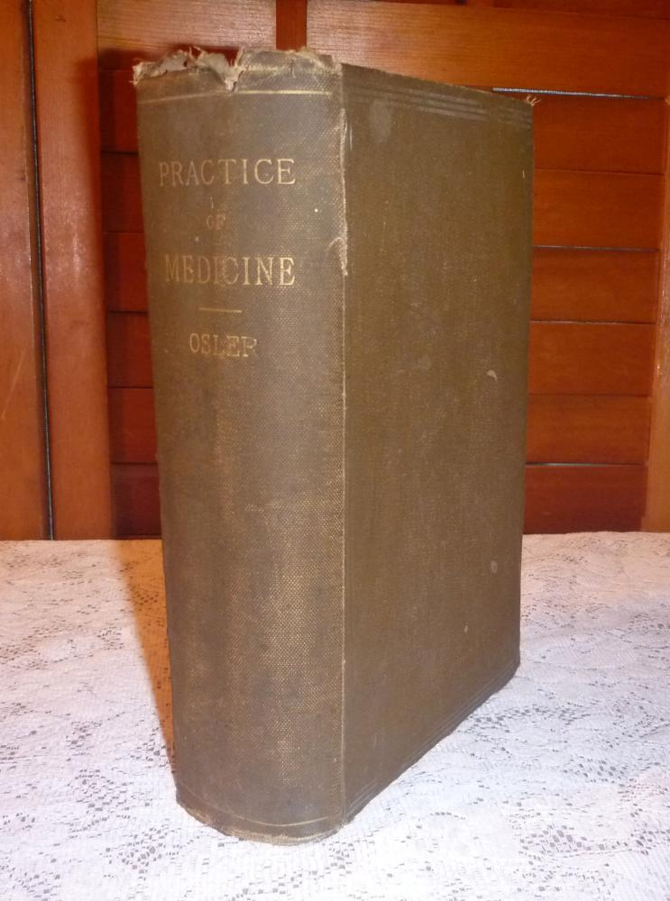 Primary image for Principles and Practice of Medicine, 1897 HC - William Osler, M.D.