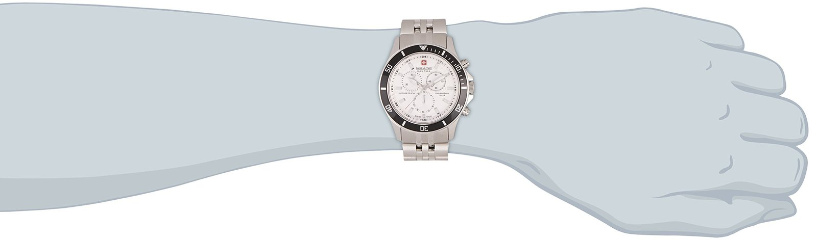 Swiss Military Mens 'Flagship' Watch 6-5183.04.001.07