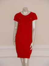 DIANE von FURSTENBERG BELIZ RED SWEATER DRESS - US SMALL - $148.86