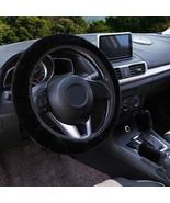 3Pcs Black Winter Steering Wheel Cover Handbrake Car Automatic Cover/War... - $12.18