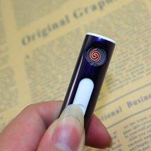 USB Cigarette Lighter Portable Rechargeable - One Item (Purple) image 2