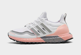Women's adidas UltraBOOST Guard Running Shoes Gray/ Pink Size US 7 FW5482 - $105.19