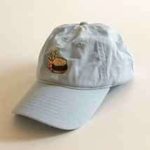 Taylor Swift LOVER Burger & TS Fries Cap Hat Limited Edition Light Blue - $55.14