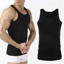 Control Shape Wear For Male Slimming Body Shapers Bodybuilding Sleeveles... - $17.29+