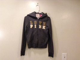 Victoria's Secret Pink Ladies Gray Hooded Sweatshirt size S