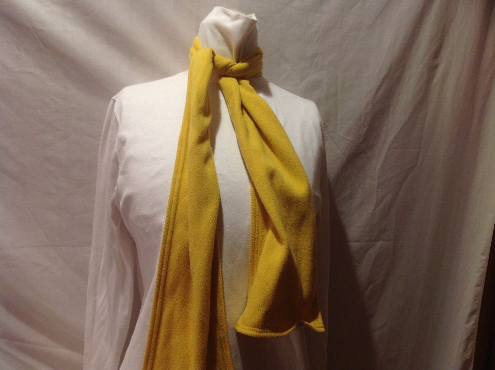 Beautiful Yellow Land's End Scarf