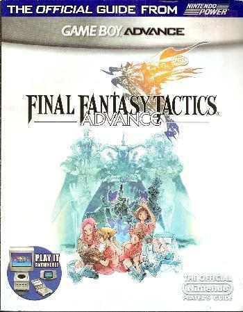 Final Fantasy Tactics w/ Player's Guide * Brand New & Sealed * Game Boy Advance