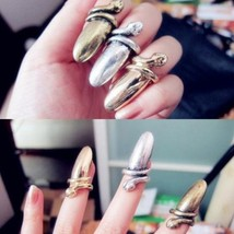 Vintage Metal Nail Ring(Color:Bronze/Vintage Silver) - $4.99