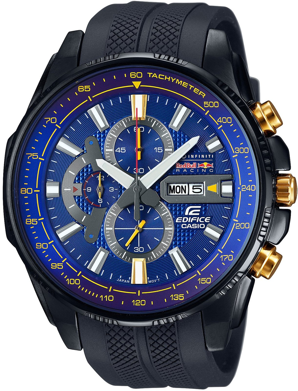 Primary image for Casio Edifice Infiniti Red Bull Racing Limited Edition EFR-549RBP-2AJR