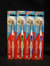 4 Pack Colgate Toothbrush Soft Full Head Extra Clean New  - $6.79