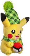 TOMY Pokemon Plush Figure Pikachu (Winter Edition) 20 cm Peluches - $20.78