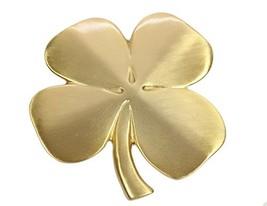 Biddy Murphy Lucky Four Leaf Clover Ireland Wall Hanging Gold Lucky Sham... - $59.88