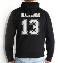 Blackthorn 13 On Back Only Hoodie S To 3 Xl Black - $31.00+