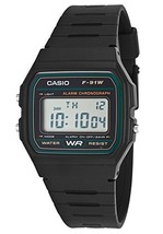Casio Men's Digital Multi-Function Black Rubber - $37.83