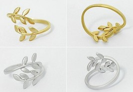 Cute Mini Leaves Cocktail Ring(Color:Gold /Silver ) - $4.99