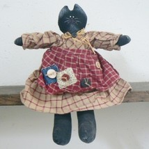 Black Cat Handmade Country Girl Doll (BN-DOL102) - $14.00