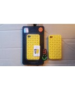 Ultra Thin Yellow Hard Plastic Case Cover For iphone 4 iphone 4S 1pc MOBC - $2.94