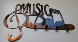 MUSIC W/ NOTES KEY RACK - COPPER/BRONZE - $21.95