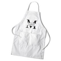 Personalized Gift - Initial Monogram and Last Name Grilling Apron Set - ... - $34.64