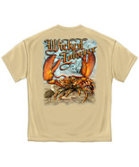 Made in America - Ocean Nautical Sassy Lobster Fishing T Shirt - Fisherm... - $24.97