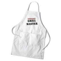 Chef Grillmaster Fun Grilling Apron Set Personalized Gift for Him Dad - $34.64