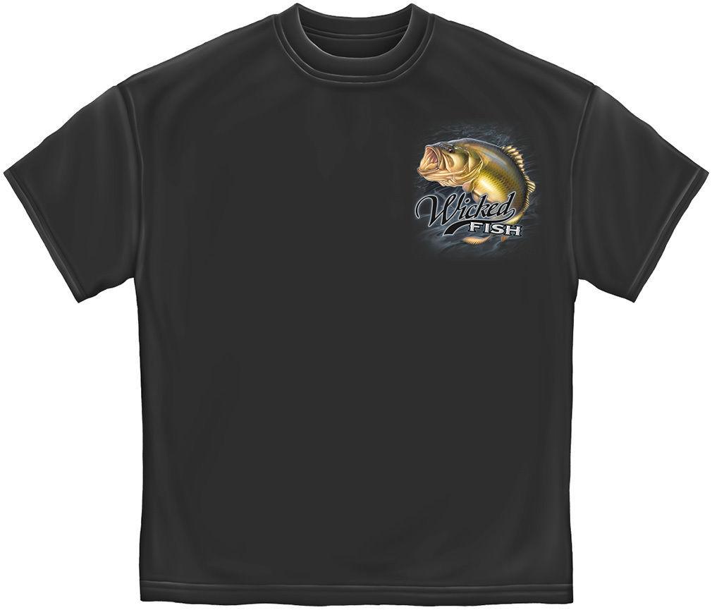 Made in usa largemouth bass fishing fish t shirt for Fishing t shirts