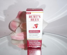 Burt's Bees Renewal Smoothing Eye Cream w/ Hibi... - $9.99