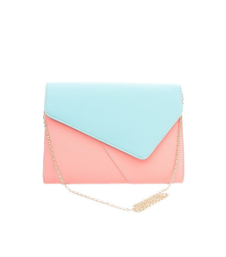 Primary image for COLOR-BLOCK ENVELOPE CLUTCH