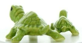 Hagen Renaker Miniature Turtle Mama and Baby Ceramic Figurine Set image 7
