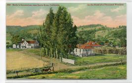 Burke's Sanatorium Santa Rosa California 1910c 4902 postcard - $6.44