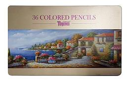 TT Art T-Prime Professional Wooden Colored Pencils 36 Colors Set