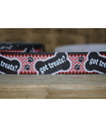 GOT TREATS? GROSGRAIN RIBBON SOLD BY THE YARD. COORDINATING FLATBACKS AV... - $0.75+