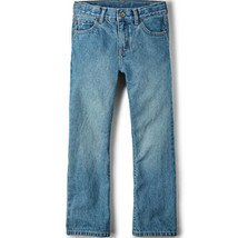 Basic Bootcut Jeans Boys Light Stone Wash Size 18S NWT Childrens Place - $15.07