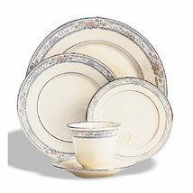 Lenox Charleston Platinum Banded Ivory China Cup - $19.75