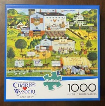 "Charles Wysocki ""Sunny Side Up"" 1000 piece puzzle - $11.43"