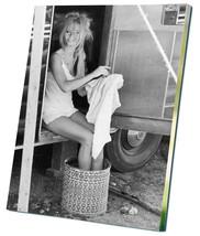 "Brigitte Bardot 12""x16"" (30cm/40cm) Canvas Print - $20.00"