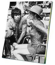 "Keith Richards Anita Pallenberg  12""x16"" (30cm/... - $20.00"