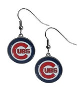 Chicago Cubs Dangle Earrings - $10.00