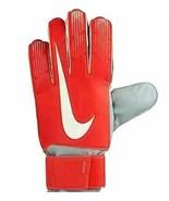 Nike GK Match Goal Keeper Soccer Gloves Red GS3370-671 Adult  9 or 10 NIP - $18.39