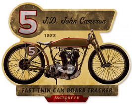 John Cameron Plasma Cut Metal Sign - $34.95