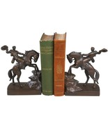 Bookends Bookend AMERICAN WEST Southwestern Let R Buck - $219.00