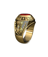 TRADITIONAL COLLEGE RING-10KT GOLD - $699.00