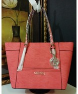 NWT GUESS Delaney Small Classic Tote Passion PY... - $88.00
