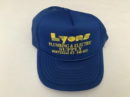 Vintage Lyons Plumbing & Electric Supply Monticello, KY Trucker Hat Snap... - $23.36