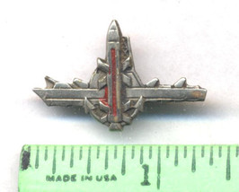 Vintage IDF Israel Israeli Defense Force Missile Ship Small Insignia Collar Pin - $6.00